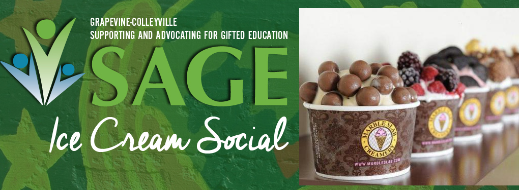 SAGE May 1 Ice Cream Social